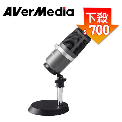 圓剛黑鳩直播錄音麥克風AM310