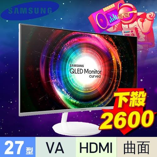 三星-LCD 26.9吋 C27H711曲面顯像 曲面顯示器