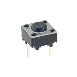 TACT SW 6X6 -- 5mm 2PIN (5入)
