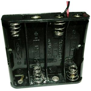 3號*4電池盒1入