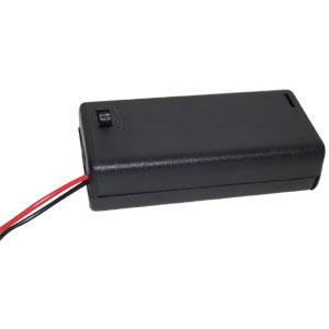 3號*2電池盒(加蓋附開關)1入