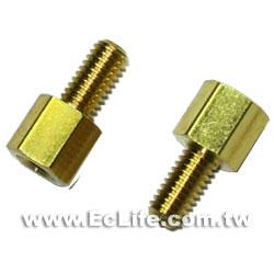 六角細牙銅柱 5mm (8入)