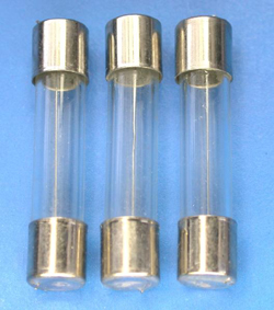0.5A 玻璃管FUSE 30mm/250V(快速)(10入)