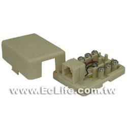 美式電話接線盒6P6C