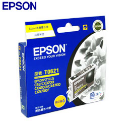 EPSON原廠高印量墨水匣T062150黑