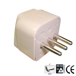 萬用轉接器2P+E接地型(WA-12)