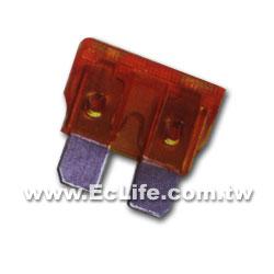 10A 迷你型車用插入式保險絲(紅)