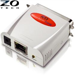 ZO零壹 平行埠印表伺服器TECH P101S