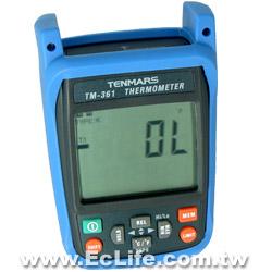 TENMARS K型單輸入溫度錶 TM-361