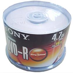 SONY 16X DVD-R燒錄片  50入