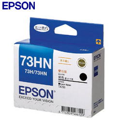EPSON 原廠墨水匣 T0731HN 高印量雙包裝黑色墨水