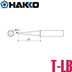 烙鐵頭 HAKKO 936-T-LB尖