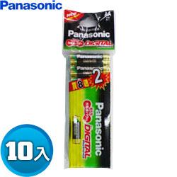 Panasonic國際牌 鹼性 3號 AA 電池 10入