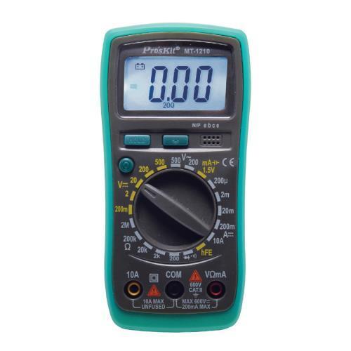 Pro'sKit 寶工 MT-1210, 3 1/2經濟款數位電錶