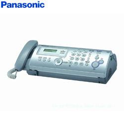 Panasonic 輕巧型普通紙轉寫式傳真機 KX-FP207TW