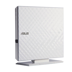 ASUS華碩 外接式超薄DVD燒錄機 SDRW-08D2S 白