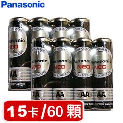 【套餐組】國際牌環保碳鋅3號電池(4顆裝 x15卡