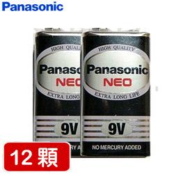 【超值組】國際牌方形9V電池(黑 x 12入