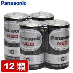【套餐組】國際牌環保碳鋅2號電池(2顆裝 x 6組