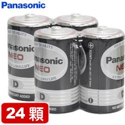 【套餐組】國際牌環保碳鋅1號電池(2顆裝 x 12組