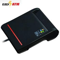 EasyATM GT2 ATM晶片讀卡機 黑色