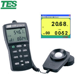 TES泰仕 TES-1339R 專業級照度計 (RS-232)