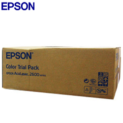 EPSON 原廠碳粉匣C2600N彩色碳粉組( 藍紅黃組合包 )