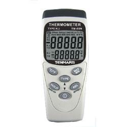 Tenmars TM-80N K/J型單輸入溫度錶