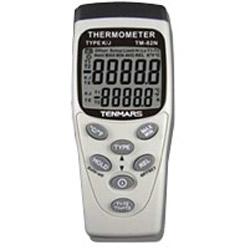 Tenmars泰瑪斯 TM-82N K/J型 雙輸入溫度錶
