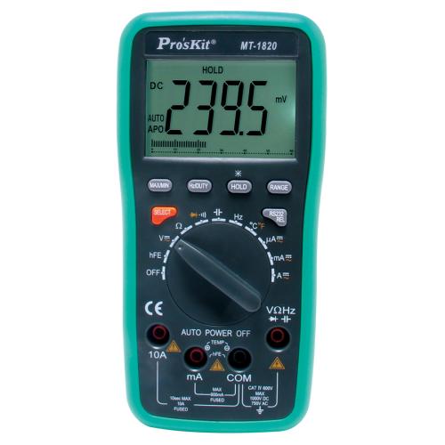 Pro'sKit 寶工 MT-1820  3 5/6連線型數字萬用錶