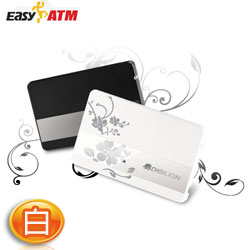 EasyATM 名片型 ATM記憶卡多合一讀卡機 K50 白