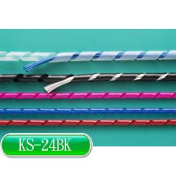 KSS 捲式結束帶(PE) KS-24BK (黑色)