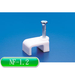 KSS 白扁線固定夾 NF-1.2