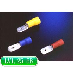 KSS 公母插端子(公) LV1.25-5B 紅色 (100入)