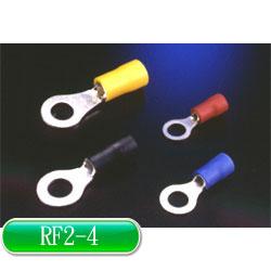 KSS R型絕緣端子 RF2-4 藍色 (100入)