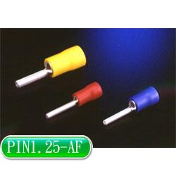 KSS 針型絕緣端子 PIN1.25-AF 紅色 (10入)