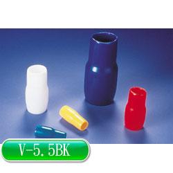 KSS 絕緣套管 V-5.5BK 黑色 (10入)
