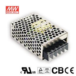 MW明緯 25W 機殼型交換式電源供應器 RS-25-5