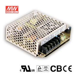 MW明緯 50W 機殼型交換式電源供應器 RS-50-5