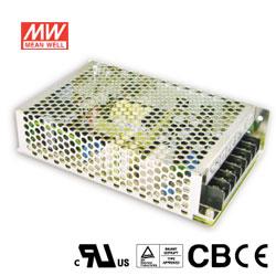 MW明緯 100W 機殼型交換式電源供應器 RS-100-24