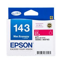 EPSON 143高印量XL墨水匣 T143350 (紅)