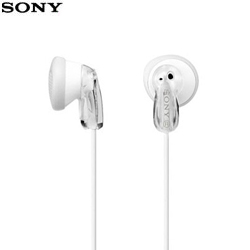 【公司貨-非平輸】SONY 索尼 MDR-E9LP 繽紛多彩立體聲耳塞式耳機 白