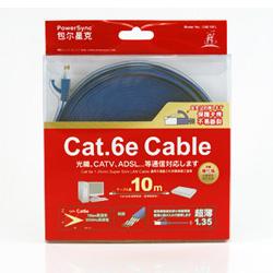 群加 CAT6E 次世代光纖網路超扁線 10M