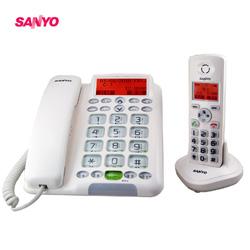 三洋 1.8G繁體 中文助聽功能數位無線子母機 DCT-9951(白)