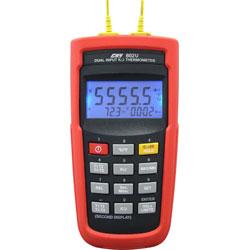 CHY-802U K/J 型雙輸入溫度計USB介面