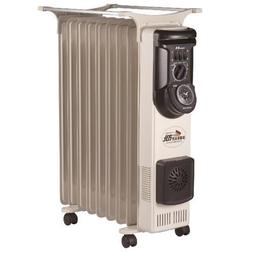 北方9葉片式恆溫定時電暖爐 NR-09ZL