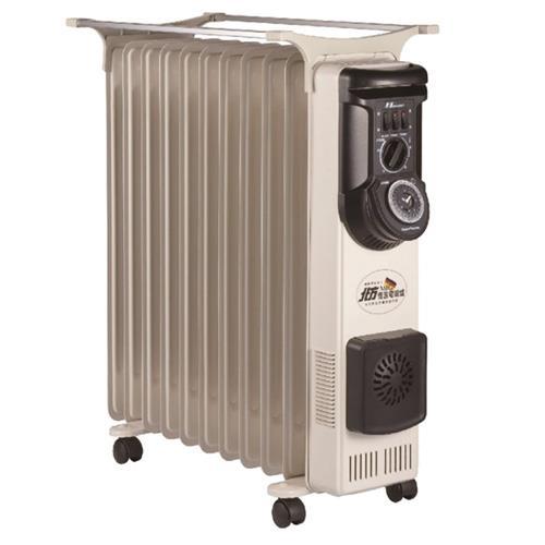 北方11葉片式恆溫電暖爐 NR-11ZL