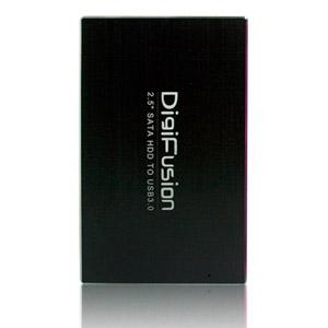 伽利略 USB3.0 2.5吋 SATA/SSD 硬碟外接盒 黑
