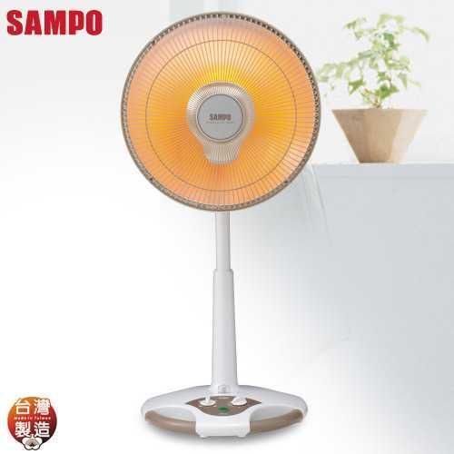 【SAMPO聲寶】14吋鹵素電暖器HX-FD14F