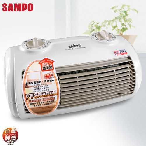 【SAMPO聲寶】陶瓷式定時電暖器HX-FG12P